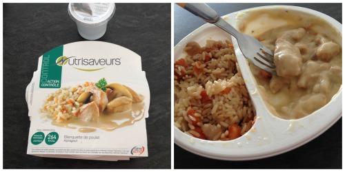 plat cuisiné blanquette de poulet nutrisaveurs