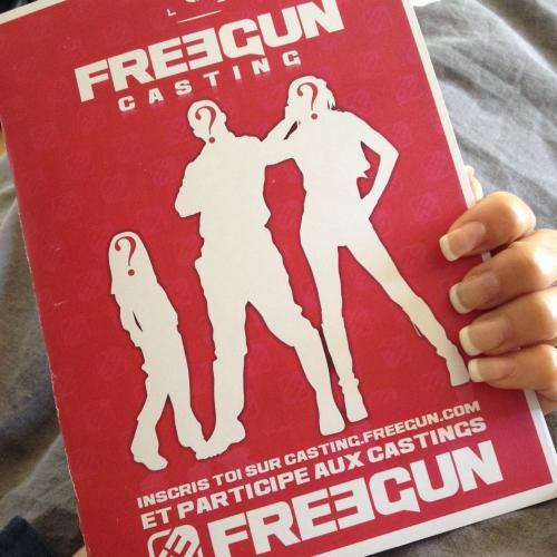 casting freegun